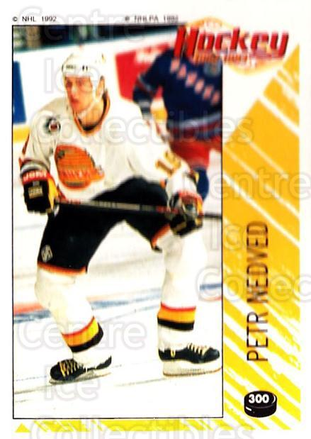 1992-93 Panini Stickers #300 Petr Nedved<br/>3 In Stock - $1.00 each - <a href=https://centericecollectibles.foxycart.com/cart?name=1992-93%20Panini%20Stickers%20%23300%20Petr%20Nedved...&quantity_max=3&price=$1.00&code=175692 class=foxycart> Buy it now! </a>