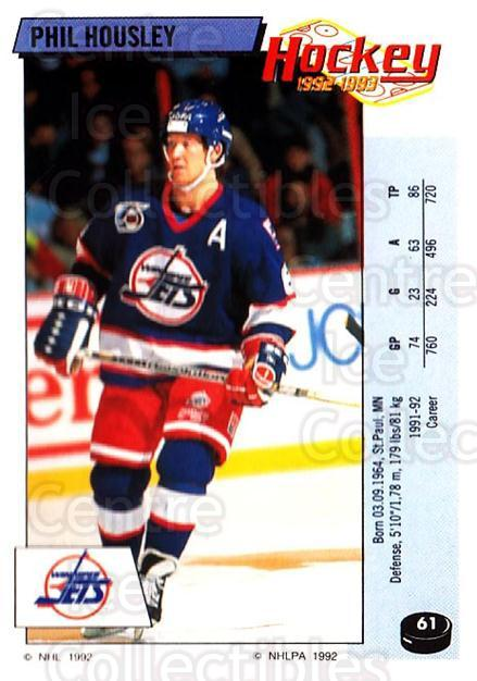 1992-93 Panini Stickers #61 Phil Housley<br/>7 In Stock - $1.00 each - <a href=https://centericecollectibles.foxycart.com/cart?name=1992-93%20Panini%20Stickers%20%2361%20Phil%20Housley...&quantity_max=7&price=$1.00&code=175733 class=foxycart> Buy it now! </a>