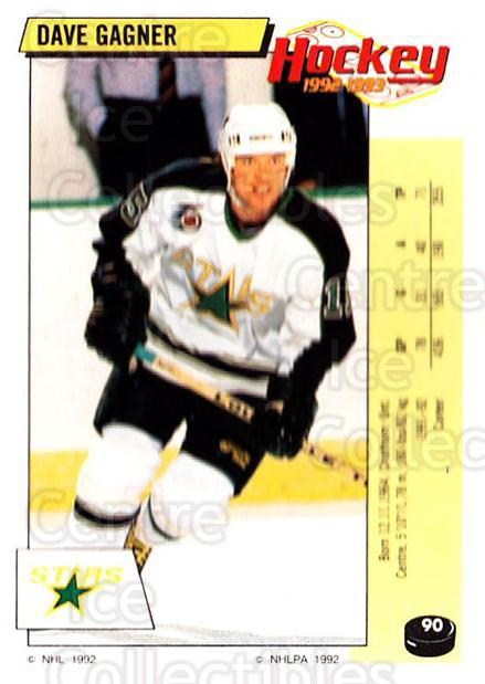 1992-93 Panini Stickers #90 Dave Gagner<br/>5 In Stock - $1.00 each - <a href=https://centericecollectibles.foxycart.com/cart?name=1992-93%20Panini%20Stickers%20%2390%20Dave%20Gagner...&quantity_max=5&price=$1.00&code=175764 class=foxycart> Buy it now! </a>