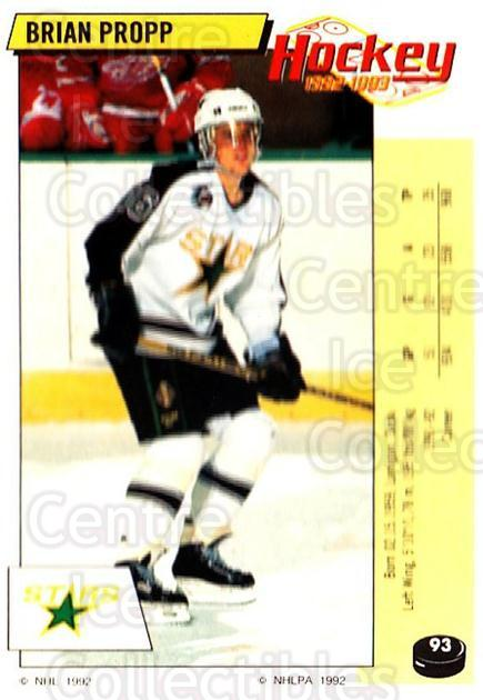 1992-93 Panini Stickers #93 Brian Propp<br/>5 In Stock - $1.00 each - <a href=https://centericecollectibles.foxycart.com/cart?name=1992-93%20Panini%20Stickers%20%2393%20Brian%20Propp...&quantity_max=5&price=$1.00&code=175767 class=foxycart> Buy it now! </a>