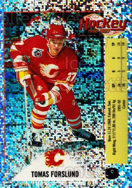1992-93 Panini Stickers Inserts #D Tomas Forslund<br/>4 In Stock - $1.00 each - <a href=https://centericecollectibles.foxycart.com/cart?name=1992-93%20Panini%20Stickers%20Inserts%20%23D%20Tomas%20Forslund...&price=$1.00&code=175776 class=foxycart> Buy it now! </a>