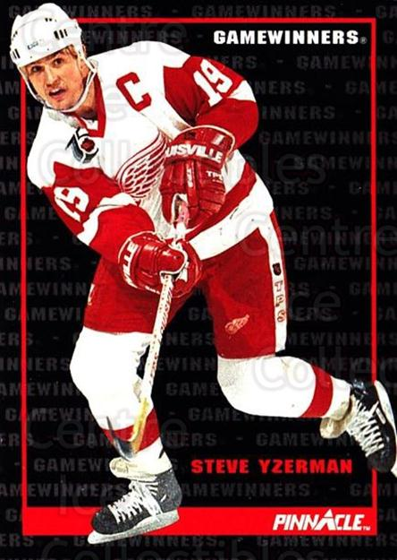 1992-93 Pinnacle Canadian #258 Steve Yzerman<br/>2 In Stock - $2.00 each - <a href=https://centericecollectibles.foxycart.com/cart?name=1992-93%20Pinnacle%20Canadian%20%23258%20Steve%20Yzerman...&quantity_max=2&price=$2.00&code=176070 class=foxycart> Buy it now! </a>