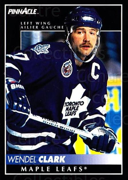 1992-93 Pinnacle Canadian #276 Wendel Clark<br/>3 In Stock - $1.00 each - <a href=https://centericecollectibles.foxycart.com/cart?name=1992-93%20Pinnacle%20Canadian%20%23276%20Wendel%20Clark...&quantity_max=3&price=$1.00&code=176084 class=foxycart> Buy it now! </a>