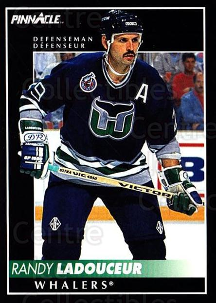 1992-93 Pinnacle Canadian #291 Randy Ladouceur<br/>4 In Stock - $1.00 each - <a href=https://centericecollectibles.foxycart.com/cart?name=1992-93%20Pinnacle%20Canadian%20%23291%20Randy%20Ladouceur...&quantity_max=4&price=$1.00&code=176101 class=foxycart> Buy it now! </a>