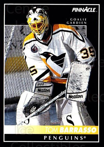 1992-93 Pinnacle Canadian #298 Tom Barrasso<br/>5 In Stock - $1.00 each - <a href=https://centericecollectibles.foxycart.com/cart?name=1992-93%20Pinnacle%20Canadian%20%23298%20Tom%20Barrasso...&quantity_max=5&price=$1.00&code=176108 class=foxycart> Buy it now! </a>