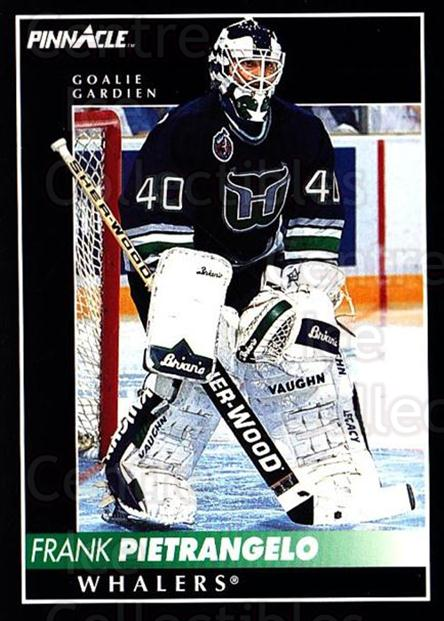 1992-93 Pinnacle Canadian #309 Frank Pietrangelo<br/>3 In Stock - $1.00 each - <a href=https://centericecollectibles.foxycart.com/cart?name=1992-93%20Pinnacle%20Canadian%20%23309%20Frank%20Pietrange...&quantity_max=3&price=$1.00&code=176120 class=foxycart> Buy it now! </a>