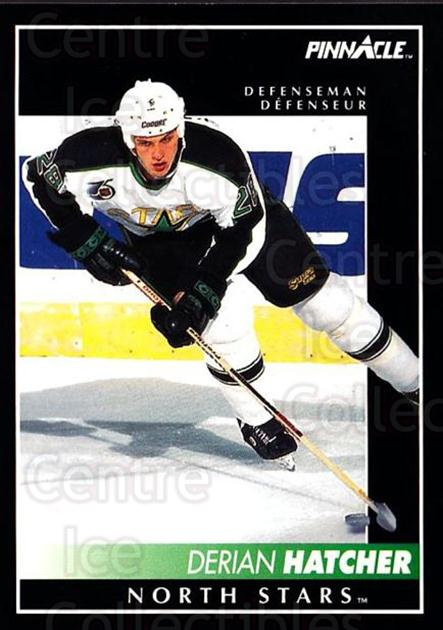 1992-93 Pinnacle Canadian #34 Derian Hatcher<br/>5 In Stock - $1.00 each - <a href=https://centericecollectibles.foxycart.com/cart?name=1992-93%20Pinnacle%20Canadian%20%2334%20Derian%20Hatcher...&quantity_max=5&price=$1.00&code=176153 class=foxycart> Buy it now! </a>