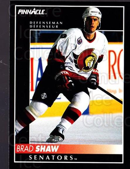 1992-93 Pinnacle Canadian #372 Brad Shaw<br/>5 In Stock - $1.00 each - <a href=https://centericecollectibles.foxycart.com/cart?name=1992-93%20Pinnacle%20Canadian%20%23372%20Brad%20Shaw...&quantity_max=5&price=$1.00&code=176189 class=foxycart> Buy it now! </a>