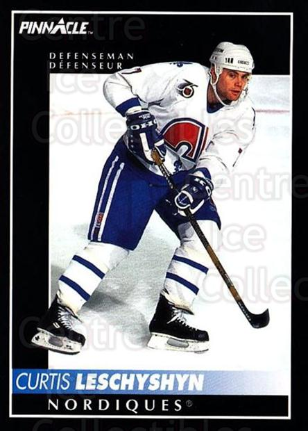 1992-93 Pinnacle Canadian #46 Curtis Leschyshyn<br/>5 In Stock - $1.00 each - <a href=https://centericecollectibles.foxycart.com/cart?name=1992-93%20Pinnacle%20Canadian%20%2346%20Curtis%20Leschysh...&quantity_max=5&price=$1.00&code=176244 class=foxycart> Buy it now! </a>