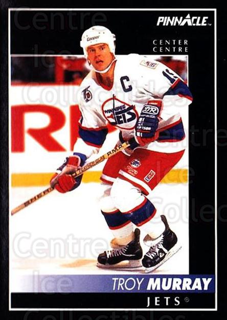 1992-93 Pinnacle Canadian #49 Troy Murray<br/>5 In Stock - $1.00 each - <a href=https://centericecollectibles.foxycart.com/cart?name=1992-93%20Pinnacle%20Canadian%20%2349%20Troy%20Murray...&quantity_max=5&price=$1.00&code=176247 class=foxycart> Buy it now! </a>