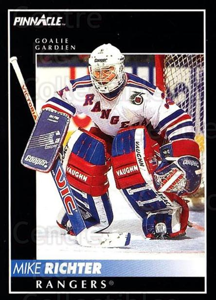 1992-93 Pinnacle Canadian #75 Mike Richter<br/>5 In Stock - $1.00 each - <a href=https://centericecollectibles.foxycart.com/cart?name=1992-93%20Pinnacle%20Canadian%20%2375%20Mike%20Richter...&quantity_max=5&price=$1.00&code=176275 class=foxycart> Buy it now! </a>