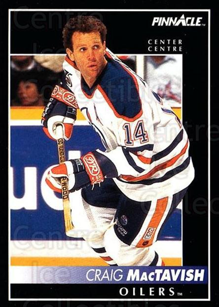 1992-93 Pinnacle Canadian #78 Craig MacTavish<br/>4 In Stock - $1.00 each - <a href=https://centericecollectibles.foxycart.com/cart?name=1992-93%20Pinnacle%20Canadian%20%2378%20Craig%20MacTavish...&quantity_max=4&price=$1.00&code=176278 class=foxycart> Buy it now! </a>
