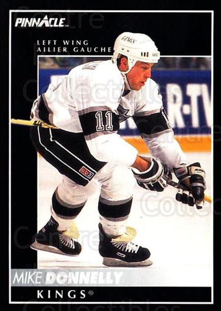 1992-93 Pinnacle Canadian #98 Mike Donnelly<br/>5 In Stock - $1.00 each - <a href=https://centericecollectibles.foxycart.com/cart?name=1992-93%20Pinnacle%20Canadian%20%2398%20Mike%20Donnelly...&quantity_max=5&price=$1.00&code=176298 class=foxycart> Buy it now! </a>