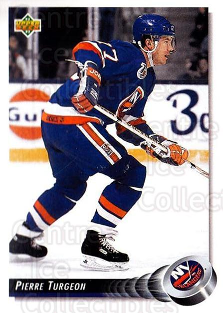 1992-93 Upper Deck #175 Pierre Turgeon<br/>5 In Stock - $1.00 each - <a href=https://centericecollectibles.foxycart.com/cart?name=1992-93%20Upper%20Deck%20%23175%20Pierre%20Turgeon...&quantity_max=5&price=$1.00&code=176549 class=foxycart> Buy it now! </a>