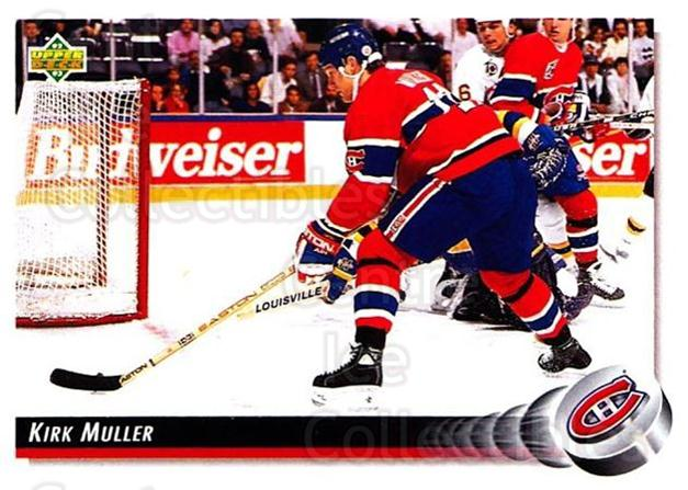 1992-93 Upper Deck #180 Kirk Muller<br/>4 In Stock - $1.00 each - <a href=https://centericecollectibles.foxycart.com/cart?name=1992-93%20Upper%20Deck%20%23180%20Kirk%20Muller...&quantity_max=4&price=$1.00&code=176555 class=foxycart> Buy it now! </a>