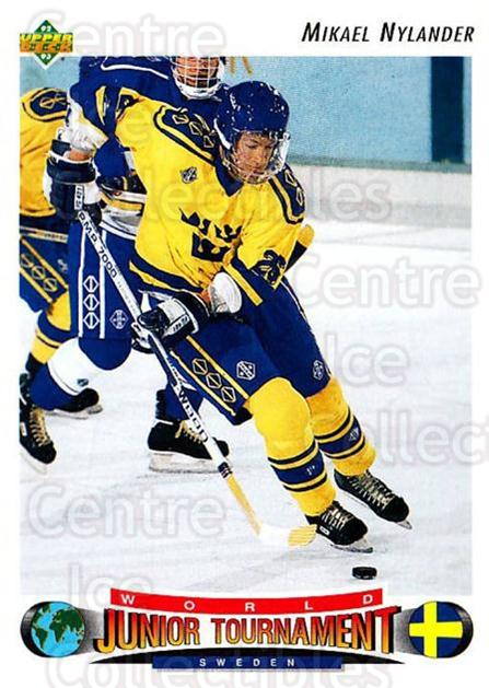 1992-93 Upper Deck #236 Michael Nylander<br/>2 In Stock - $1.00 each - <a href=https://centericecollectibles.foxycart.com/cart?name=1992-93%20Upper%20Deck%20%23236%20Michael%20Nylande...&price=$1.00&code=176614 class=foxycart> Buy it now! </a>
