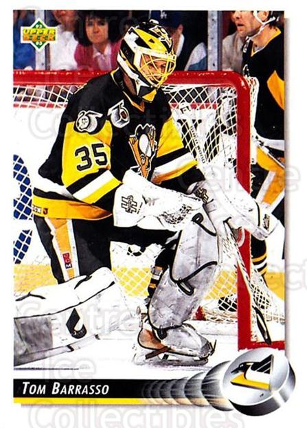 1992-93 Upper Deck #243 Tom Barrasso<br/>4 In Stock - $1.00 each - <a href=https://centericecollectibles.foxycart.com/cart?name=1992-93%20Upper%20Deck%20%23243%20Tom%20Barrasso...&price=$1.00&code=176620 class=foxycart> Buy it now! </a>