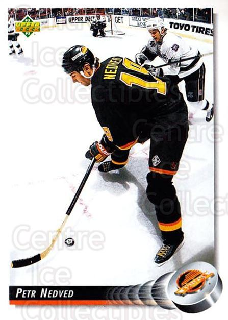1992-93 Upper Deck #263 Petr Nedved<br/>4 In Stock - $1.00 each - <a href=https://centericecollectibles.foxycart.com/cart?name=1992-93%20Upper%20Deck%20%23263%20Petr%20Nedved...&quantity_max=4&price=$1.00&code=176642 class=foxycart> Buy it now! </a>
