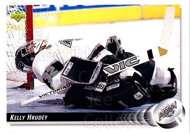 1992-93 Upper Deck #270 Kelly Hrudey<br/>3 In Stock - $1.00 each - <a href=https://centericecollectibles.foxycart.com/cart?name=1992-93%20Upper%20Deck%20%23270%20Kelly%20Hrudey...&quantity_max=3&price=$1.00&code=176650 class=foxycart> Buy it now! </a>