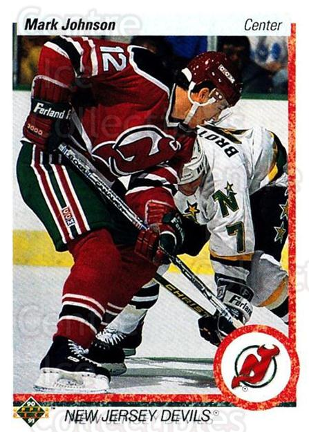 1990-91 Upper Deck #180 Mark Johnson<br/>5 In Stock - $1.00 each - <a href=https://centericecollectibles.foxycart.com/cart?name=1990-91%20Upper%20Deck%20%23180%20Mark%20Johnson...&quantity_max=5&price=$1.00&code=17667 class=foxycart> Buy it now! </a>