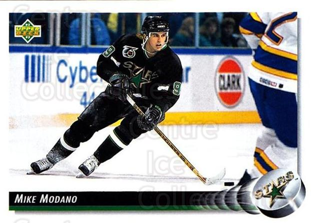 1992-93 Upper Deck #305 Mike Modano<br/>5 In Stock - $1.00 each - <a href=https://centericecollectibles.foxycart.com/cart?name=1992-93%20Upper%20Deck%20%23305%20Mike%20Modano...&quantity_max=5&price=$1.00&code=176687 class=foxycart> Buy it now! </a>