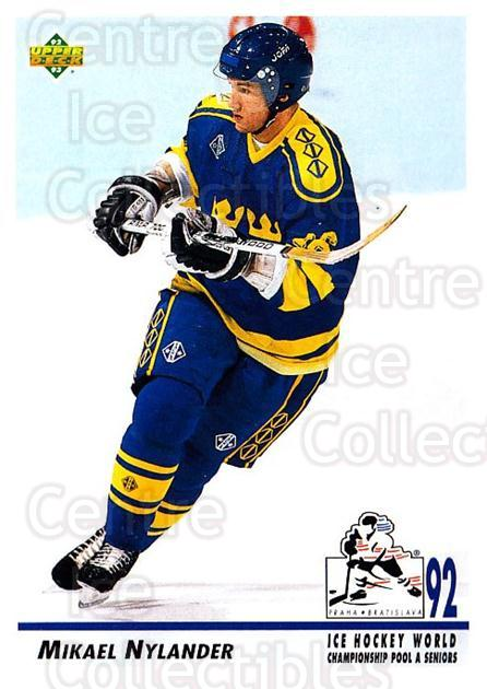 1992-93 Upper Deck #378 Michael Nylander<br/>4 In Stock - $1.00 each - <a href=https://centericecollectibles.foxycart.com/cart?name=1992-93%20Upper%20Deck%20%23378%20Michael%20Nylande...&price=$1.00&code=176763 class=foxycart> Buy it now! </a>