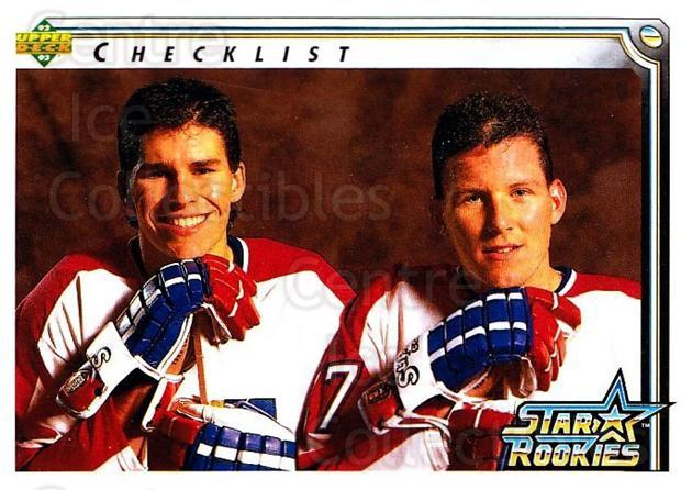 1992-93 Upper Deck #398 Scott Lachance, Keith Tkachuk<br/>5 In Stock - $1.00 each - <a href=https://centericecollectibles.foxycart.com/cart?name=1992-93%20Upper%20Deck%20%23398%20Scott%20Lachance,...&quantity_max=5&price=$1.00&code=176785 class=foxycart> Buy it now! </a>