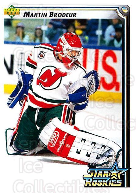 1992-93 Upper Deck #408 Martin Brodeur<br/>1 In Stock - $2.00 each - <a href=https://centericecollectibles.foxycart.com/cart?name=1992-93%20Upper%20Deck%20%23408%20Martin%20Brodeur...&price=$2.00&code=176795 class=foxycart> Buy it now! </a>