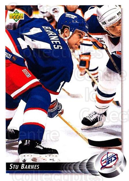 1992-93 Upper Deck #426 Stu Barnes<br/>5 In Stock - $1.00 each - <a href=https://centericecollectibles.foxycart.com/cart?name=1992-93%20Upper%20Deck%20%23426%20Stu%20Barnes...&quantity_max=5&price=$1.00&code=176815 class=foxycart> Buy it now! </a>
