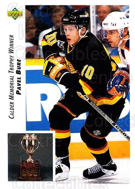1992-93 Upper Deck #431 Pavel Bure<br/>1 In Stock - $1.00 each - <a href=https://centericecollectibles.foxycart.com/cart?name=1992-93%20Upper%20Deck%20%23431%20Pavel%20Bure...&quantity_max=1&price=$1.00&code=176821 class=foxycart> Buy it now! </a>