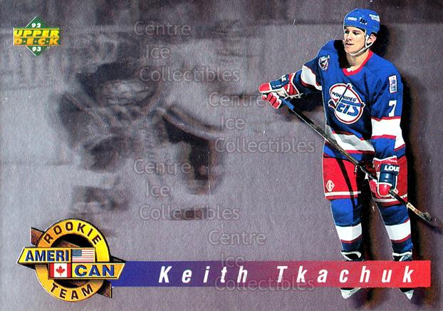 1992-93 Upper Deck Ameri/Can Holograms #2 Keith Tkachuk<br/>12 In Stock - $2.00 each - <a href=https://centericecollectibles.foxycart.com/cart?name=1992-93%20Upper%20Deck%20Ameri/Can%20Holograms%20%232%20Keith%20Tkachuk...&quantity_max=12&price=$2.00&code=177090 class=foxycart> Buy it now! </a>