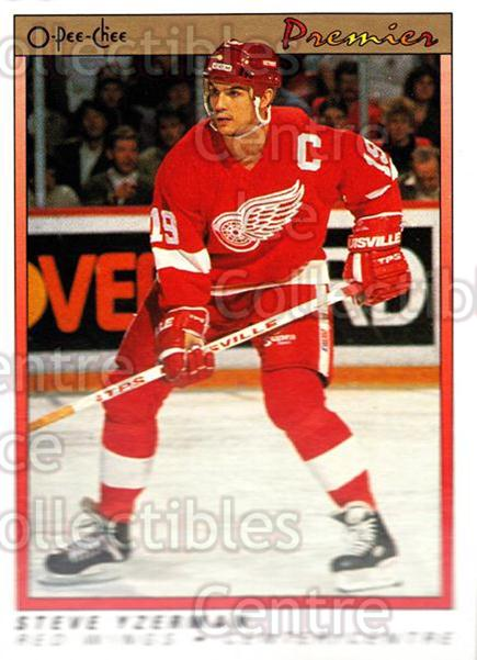 1990-91 OPC Premier #130 Steve Yzerman<br/>7 In Stock - $1.00 each - <a href=https://centericecollectibles.foxycart.com/cart?name=1990-91%20OPC%20Premier%20%23130%20Steve%20Yzerman...&price=$1.00&code=17738 class=foxycart> Buy it now! </a>