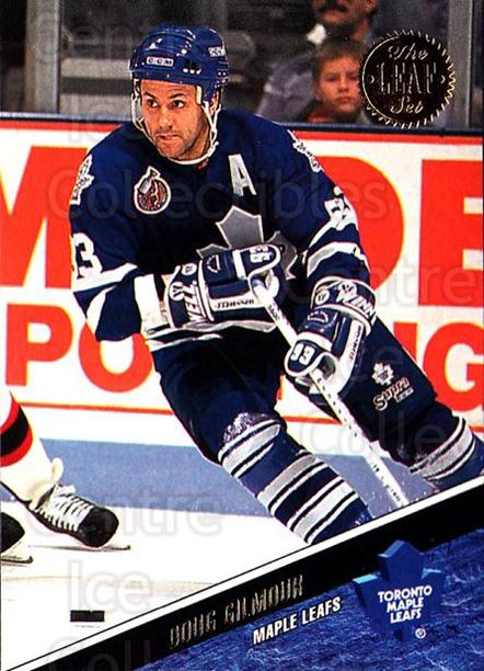 1993-94 Leaf #93 Doug Gilmour<br/>4 In Stock - $1.00 each - <a href=https://centericecollectibles.foxycart.com/cart?name=1993-94%20Leaf%20%2393%20Doug%20Gilmour...&quantity_max=4&price=$1.00&code=177782 class=foxycart> Buy it now! </a>