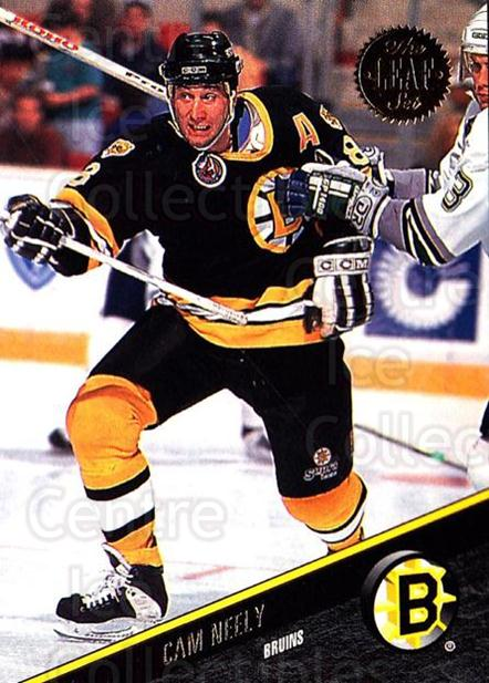 1993-94 Leaf #99 Cam Neely<br/>4 In Stock - $1.00 each - <a href=https://centericecollectibles.foxycart.com/cart?name=1993-94%20Leaf%20%2399%20Cam%20Neely...&quantity_max=4&price=$1.00&code=177788 class=foxycart> Buy it now! </a>