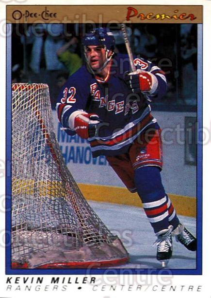 1990-91 OPC Premier #73 Kevin Miller<br/>11 In Stock - $1.00 each - <a href=https://centericecollectibles.foxycart.com/cart?name=1990-91%20OPC%20Premier%20%2373%20Kevin%20Miller...&quantity_max=11&price=$1.00&code=17802 class=foxycart> Buy it now! </a>