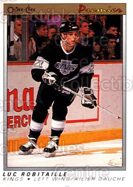 1990-91 OPC Premier #99 Luc Robitaille<br/>12 In Stock - $1.00 each - <a href=https://centericecollectibles.foxycart.com/cart?name=1990-91%20OPC%20Premier%20%2399%20Luc%20Robitaille...&quantity_max=12&price=$1.00&code=17828 class=foxycart> Buy it now! </a>