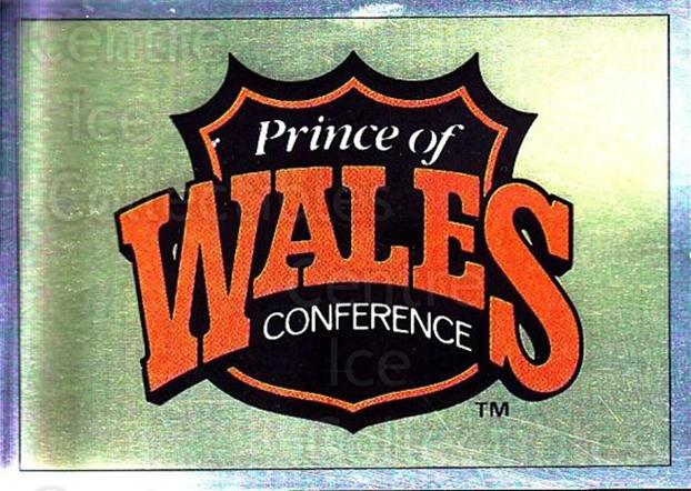 1990-91 Panini Stickers #1 Wales Conference<br/>10 In Stock - $1.00 each - <a href=https://centericecollectibles.foxycart.com/cart?name=1990-91%20Panini%20Stickers%20%231%20Wales%20Conferenc...&quantity_max=10&price=$1.00&code=17829 class=foxycart> Buy it now! </a>