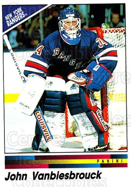 1990-91 Panini Stickers #108 John Vanbiesbrouck<br/>1 In Stock - $1.00 each - <a href=https://centericecollectibles.foxycart.com/cart?name=1990-91%20Panini%20Stickers%20%23108%20John%20Vanbiesbro...&quantity_max=1&price=$1.00&code=17839 class=foxycart> Buy it now! </a>
