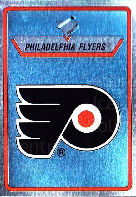 1990-91 Panini Stickers #117 Philadelphia Flyers<br/>11 In Stock - $1.00 each - <a href=https://centericecollectibles.foxycart.com/cart?name=1990-91%20Panini%20Stickers%20%23117%20Philadelphia%20Fl...&quantity_max=11&price=$1.00&code=17848 class=foxycart> Buy it now! </a>