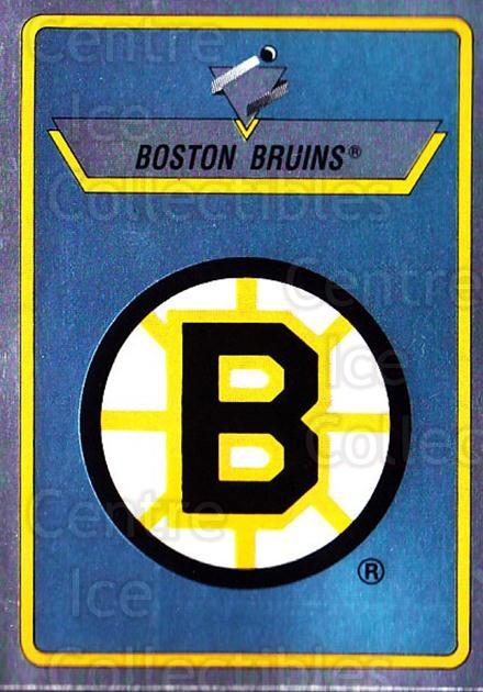 1990-91 Panini Stickers #12 Boston Bruins<br/>11 In Stock - $1.00 each - <a href=https://centericecollectibles.foxycart.com/cart?name=1990-91%20Panini%20Stickers%20%2312%20Boston%20Bruins...&quantity_max=11&price=$1.00&code=17851 class=foxycart> Buy it now! </a>