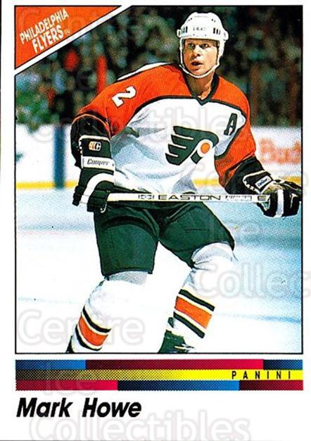 1990-91 Panini Stickers #122 Mark Howe<br/>11 In Stock - $1.00 each - <a href=https://centericecollectibles.foxycart.com/cart?name=1990-91%20Panini%20Stickers%20%23122%20Mark%20Howe...&quantity_max=11&price=$1.00&code=17854 class=foxycart> Buy it now! </a>