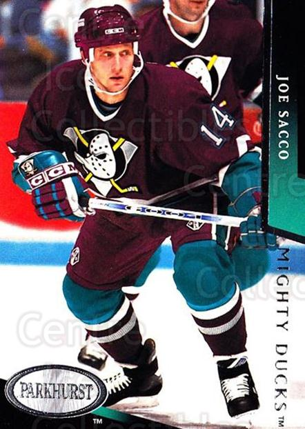 1993-94 Parkhurst #273 Joe Sacco<br/>6 In Stock - $1.00 each - <a href=https://centericecollectibles.foxycart.com/cart?name=1993-94%20Parkhurst%20%23273%20Joe%20Sacco...&quantity_max=6&price=$1.00&code=178554 class=foxycart> Buy it now! </a>