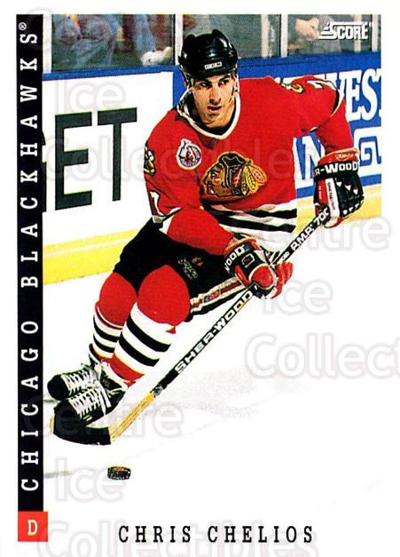 1993-94 Score USA #101 Chris Chelios<br/>4 In Stock - $1.00 each - <a href=https://centericecollectibles.foxycart.com/cart?name=1993-94%20Score%20USA%20%23101%20Chris%20Chelios...&quantity_max=4&price=$1.00&code=178565 class=foxycart> Buy it now! </a>