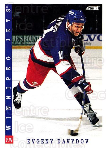 1993-94 Score USA #114 Evgeni Davydov<br/>4 In Stock - $1.00 each - <a href=https://centericecollectibles.foxycart.com/cart?name=1993-94%20Score%20USA%20%23114%20Evgeni%20Davydov...&quantity_max=4&price=$1.00&code=178579 class=foxycart> Buy it now! </a>