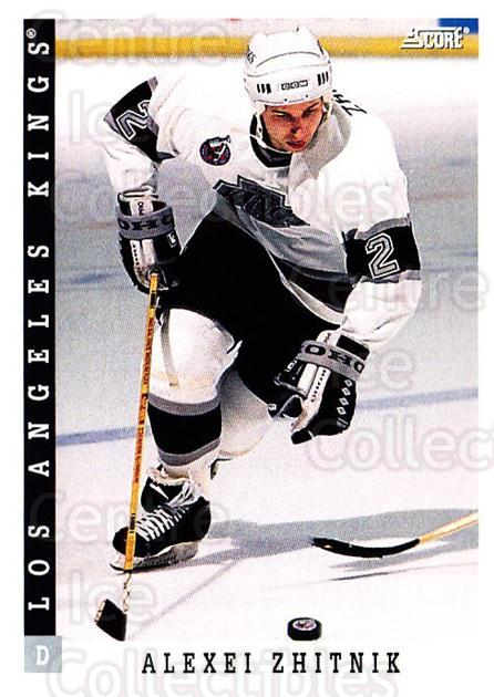 1993-94 Score USA #148 Alexei Zhitnik<br/>3 In Stock - $1.00 each - <a href=https://centericecollectibles.foxycart.com/cart?name=1993-94%20Score%20USA%20%23148%20Alexei%20Zhitnik...&quantity_max=3&price=$1.00&code=178616 class=foxycart> Buy it now! </a>