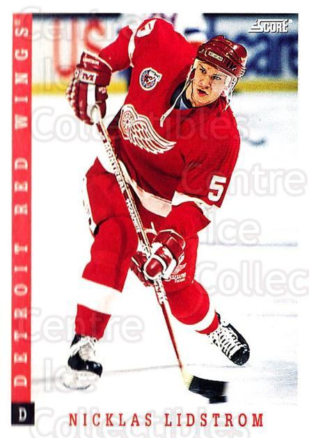1993-94 Score USA #158 Nicklas Lidstrom<br/>3 In Stock - $1.00 each - <a href=https://centericecollectibles.foxycart.com/cart?name=1993-94%20Score%20USA%20%23158%20Nicklas%20Lidstro...&quantity_max=3&price=$1.00&code=178627 class=foxycart> Buy it now! </a>