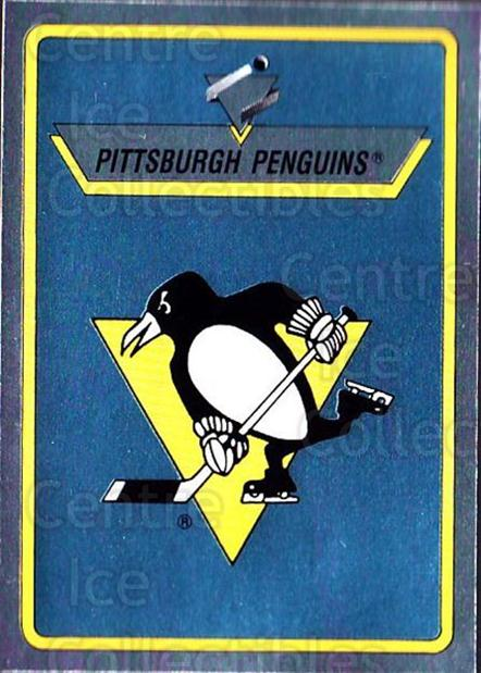1990-91 Panini Stickers #132 Pittsburgh Penguins<br/>7 In Stock - $1.00 each - <a href=https://centericecollectibles.foxycart.com/cart?name=1990-91%20Panini%20Stickers%20%23132%20Pittsburgh%20Peng...&quantity_max=7&price=$1.00&code=17865 class=foxycart> Buy it now! </a>