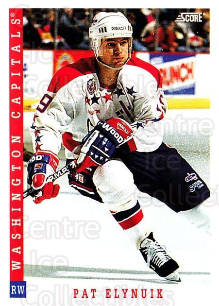 1993-94 Score USA #223 Pat Elynuik<br/>4 In Stock - $1.00 each - <a href=https://centericecollectibles.foxycart.com/cart?name=1993-94%20Score%20USA%20%23223%20Pat%20Elynuik...&quantity_max=4&price=$1.00&code=178700 class=foxycart> Buy it now! </a>