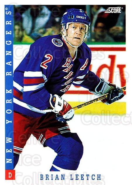 1993-94 Score USA #235 Brian Leetch<br/>4 In Stock - $1.00 each - <a href=https://centericecollectibles.foxycart.com/cart?name=1993-94%20Score%20USA%20%23235%20Brian%20Leetch...&quantity_max=4&price=$1.00&code=178713 class=foxycart> Buy it now! </a>