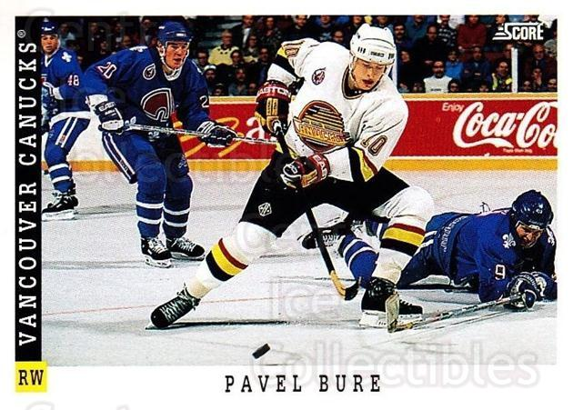 1993-94 Score USA #333 Pavel Bure<br/>3 In Stock - $1.00 each - <a href=https://centericecollectibles.foxycart.com/cart?name=1993-94%20Score%20USA%20%23333%20Pavel%20Bure...&quantity_max=3&price=$1.00&code=178822 class=foxycart> Buy it now! </a>
